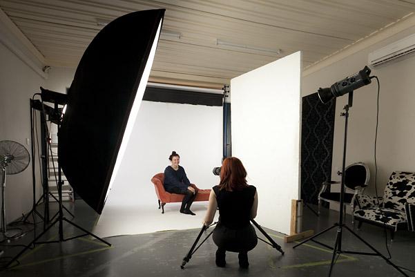 shoot at Cooper Studio