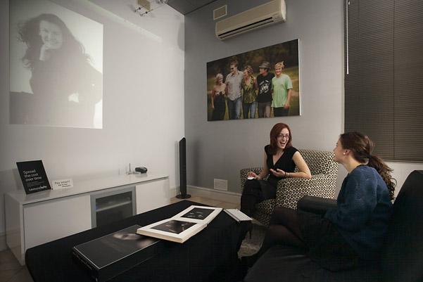 Cooper Studio Cinema Viewing Room