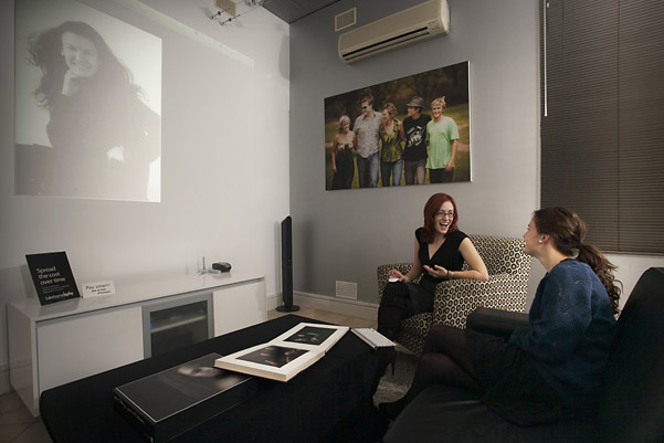 Cooper Studio Cinema Viewing Room