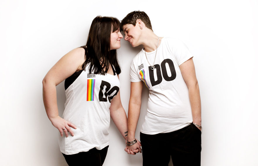 LGBT portraits - couples